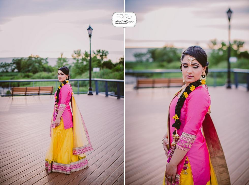 sangeet jaago punjabi wedding bride